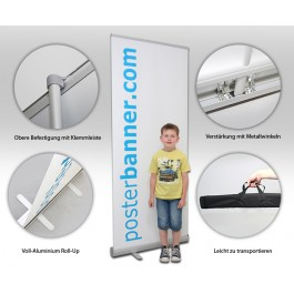 Roll Up Display 80 x 200 cm