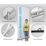Roll Up Display 85 x 200 cm